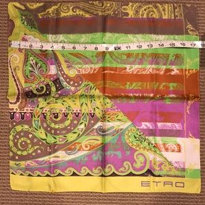 🔴 AUTHENTIC ETRO SILK SCARF